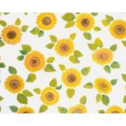 Autocolant decorativ Floarea Soarelui 45 cm