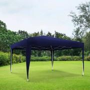 Jarolift Stelaż z poszyciem do pawilonu ogrodowego Premium, 3x3 m, niebieski
