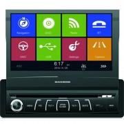 Sistem multimedia 1 DIN cu navigatie, DVD, USB, SD card si BT Macrom - TOR-M-DVD6560