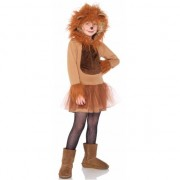 Leg Avenue Meisjes dieren verkleedkleding leeuw