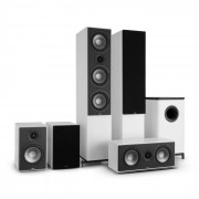NUMAN Reference 851 5.1-Soundsystem blanco con cover negro (60001635)