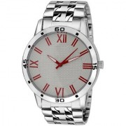 TRUE COLORS TC Round Dial Silver Analog Watch For Men -Zr-2275