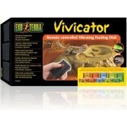 Exo Terra Vivicator távirányítós vibráló etetőtál - 28 x 15 x 4 cm