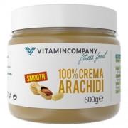 VITAMINCOMPANY Crema d'arachidi Smooth 600 g VITAMINCOMPANY - VitaminCenter