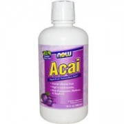 Акай течен 946 мл. - Acai - NOW FOODS, NF4805