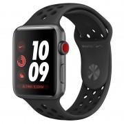 Apple Watch Nike+ Series 3 GPS + 42mm Alumínio Space Grey com Correia Desportiva Nike Preto