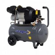 Compresor Stager HM3050V, 50L, 356l/min