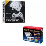 Pack Retro: Nintendo Mini Nes Classic + Playstation Classic Edition