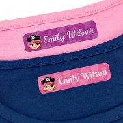 Stikets Iron On Name Tags