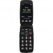 Primo by DORO 406 Mobilni telefon za starije osobe, crne boje