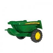 Rolly Toys Slitta II John Deere 128822, verde