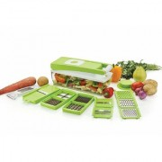 G-MTIN 2 in 1 Fruit Vegetable Graters Slicer Chipser Dicer Cutter Chopper Upgraded Deluxe Model