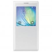 Samsung Custodia per Galaxy A7 A700 EF-CA700BWEGWW S View Cover Bianco Originale