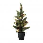 Xenos LED kerstboom in pot - 45 cm