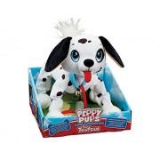 Peppy Pets Bouncy Walking Action Stuffed Puppy - Dalmatian