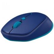 Logitech Mysz bezprzewodowa LOGITECH M535 Niebiesko-błękitny