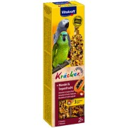 Vitakraft Baton Papagali Migdale-Fructe Tropicale 2buc, 180gr
