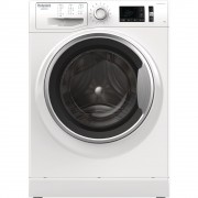 Masina de spalat rufe Hotpoint Ariston NM11 845 WSA, 8 kg, 1400 RPM, Clasa A+++, Steam Hygiene, Stop & Add, Alb
