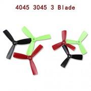 Generic 5045 3 Blades black : 12pcs 3045/4045/5040/5045 3 4 5 6 Blades Bullnose Propeller CW /CCW for 250 FPV Racing Quadcopter ZMR250 Robocat