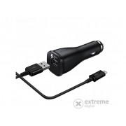 Incarcator auto Samsung USB pentru tableta , 5V/2A, negru ( incarcare rapida, cablu ECB-DU4EBE microUSB )