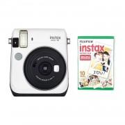 Fuji Instax Mini 70 Camera with 10 Shots White