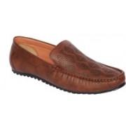 AK traders I shoes Brown color loafer Loafers For Men(Brown)