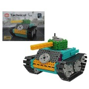 HIQ Electric Building Block Tank 145PCS Blocks Toys Building Educational Bricks