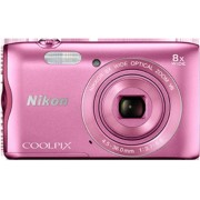 Digitalni fotoaparat Nikon Coolpix A300, rozi