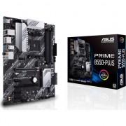 Placa de baza Asus PRIME B550-PLUS , AMD B550 , Socket AM 4 , Sloturi 4 , DDR4 , ATX