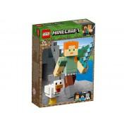LEGO Minecraft Alex BigFig cu gaina (21149)