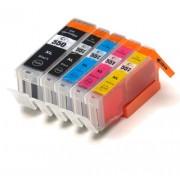 (5pack) CANON PGI-550 CLI-551 XL multipack do tlačiarne Canon - kompatibilný