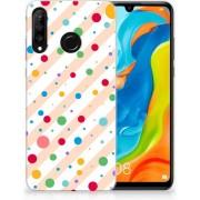 Huawei P30 Lite TPU Hoesje Design Dots