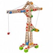 Set constructie din lemn Eichhorn Crane 170 piese