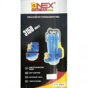 Onex OX-5006 Darálós Szennyvíz Szivattyú 3150W