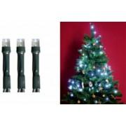LED-es beltéri fényfüzér, hidegfehér, 50 LED