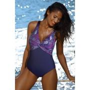 Paradise Purple curves egyrészes női fürdőruha