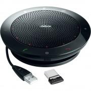 Konferencijski zvučnik Bluetooth, USB 2.0 Jabra Speak 510 MS inkl. Link 360 UC MS Mini USB Adapter Crna