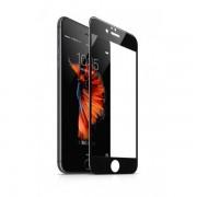 Folie sticla pentru iPhone 6/6s plus, negru