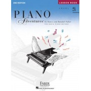 Level 2a - Lesson Book: Piano Adventures, Paperback
