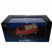 AUTOart 1/43 VW. New Beetle Cabriolet (Orange) (597530) Finished Goods
