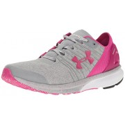 Under Armour Women's UA W Charged Bandit 2 Overcast Grey, White and Tropic Pink Running Shoes - 3.5 UK/India (36.5 EU)