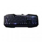 Клавиатура AULA Be Fire Expert, гейминг, 8 сменяеми клавиша, подсветка, черна, USB
