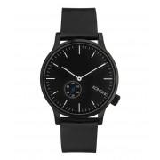 KOMONO Horloges Winston Subs Zwart