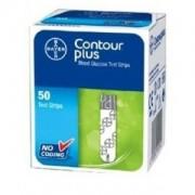Teste glicemie Contour Plus x 50 bucati Bayer