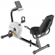 Capetan® Fit Line X3.2 Fekvőkerékpár 7Kg lendkerékkel, pulzusmérővel tablet tartóval, 110Kg terhelhe