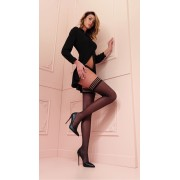 Trasparenze - Classic hold ups in trendy colours Valentina