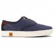 Zapatos Timberland Amherst Plain Toe Canvas Oxford Hombre-Azul
