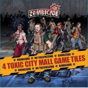 Zombicide - Toxic City Mall Game Tiles