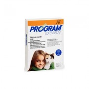 Program Oral Suspension 0-10 Lbs Cats (Orange) 12 Ampules