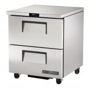 True 2 Drawer Undercounter Freezer TUC-27F-D-2-HC